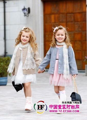 做妈妈永远的小公主和小王子 咔酷德品牌童装 - 服装资讯中心-资讯新闻-资讯新闻