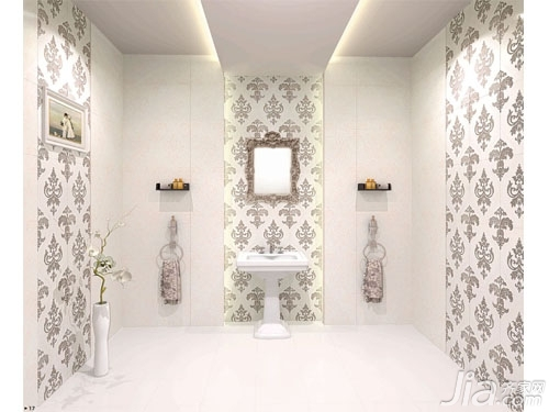 卫生间墙砖效果图欣赏生活
